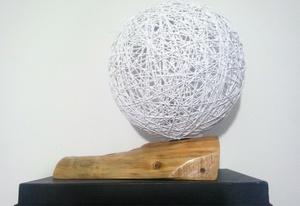 Lustre en bois
