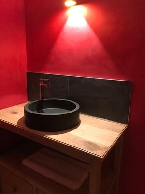 Meuble sous-vasque de salle de bain