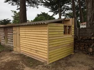 Cabane de Jardin pour petit atelier 4mx3m