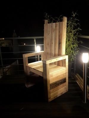 Le pallet'trône