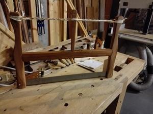 Fabrication d'une scie à cadre ou frame saw