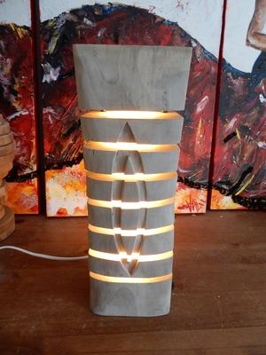 Lampe segmentée