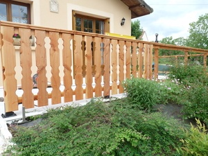 Balustrade a palines