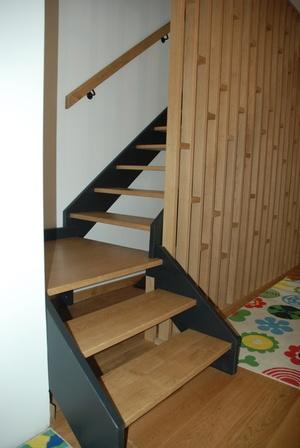 Escalier et claustras