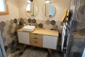 Meuble pour vasque salle de bain