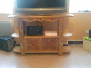 Meuble TV avec incrustation