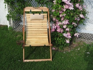 Chaise transat