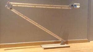 Fabriquer un trépied en bois à bras allongés pour smartphone