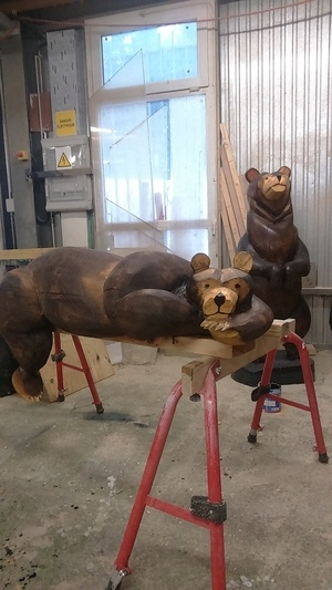 Sculptures tronço 2