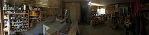 Mon atelier enfin rangé, ou presque