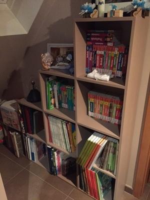 Une deuxième bibliothèque en escalier