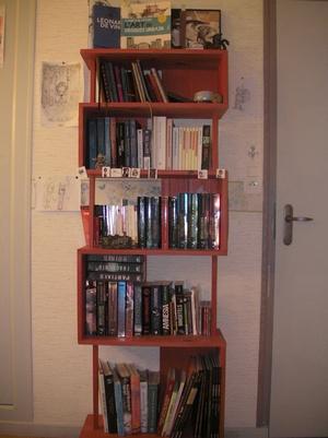 Etagère bibliothèque