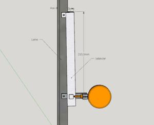 Tensiomètre de scie à ruban