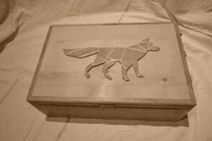 Boite à secrets du petit renard