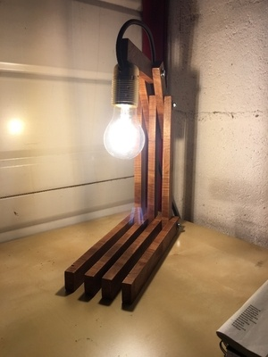 Lampe multiposition et entrainement
