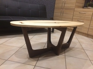 Bois plaisir:  table de salon