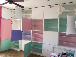 Fabrication meuble de rangement pour une chambre