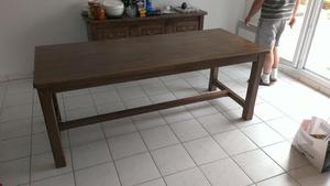 Table en laméllé collé chêne