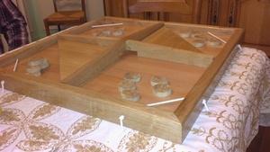 Passe trappe ou table à élastique