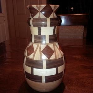 Vase en segments