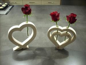 Déco bois pour saint valentin