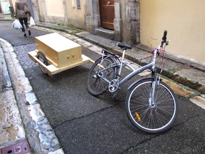 La Carriole à vélo et ses modules