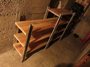 L'échelle-étagère, ou é-shelf