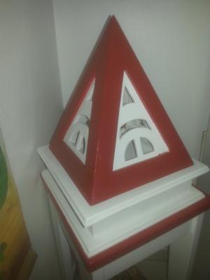 Lampe pyramidale