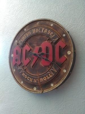 Horloge AC DC