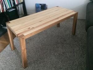 Table de salon - Première réalisation