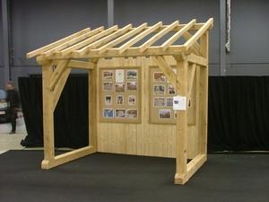 WoodStock, un abris à bois en chêne
