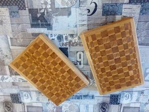 2 Planches à découper en bois de bout