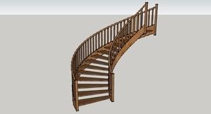 Escalier rond