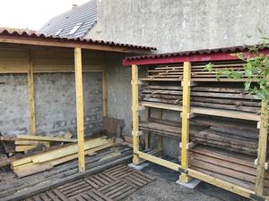 Bûcher - Rack à bois