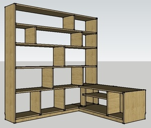 les plans sur l 39 air du bois. Black Bedroom Furniture Sets. Home Design Ideas