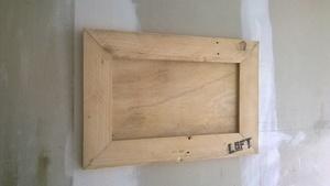 Cadre photo en bois de palette
