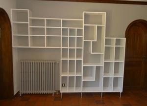 Bibliothèque en Pin