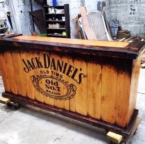 Bar et tabouret Jack daniels