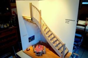 Escalier à un quart tournant