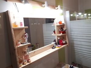 Miroir pour maquillage