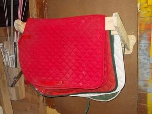 Porte tapis de selle ou porte serviette