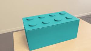 Boite a jouets lego