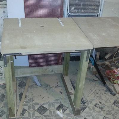 D fonceuse sous table par gwain13 sur l 39 air du bois - Defonceuse sous table scheppach hf50 ...