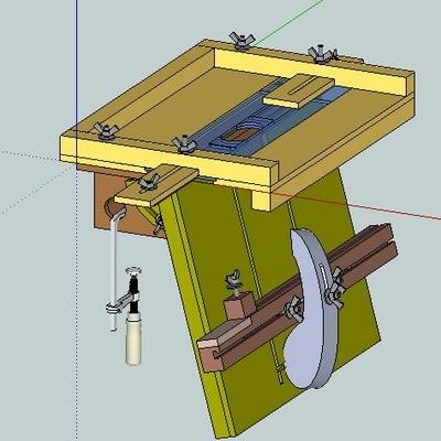 plan gabarit tenon et mortaise par toutenbois sur l 39 air du bois. Black Bedroom Furniture Sets. Home Design Ideas