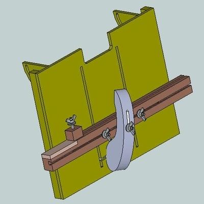 Plan gabarit tenon et mortaise par toutenbois sur l 39 air du bois - Plan pour fabriquer support hamac ...
