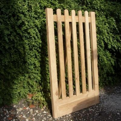 Portillon de jardin par riquet18x4 sur l 39 air du bois for Petit portillon en bois