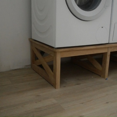 meuble machine laver et s che linge par mathieudavid sur l 39 air du bois. Black Bedroom Furniture Sets. Home Design Ideas