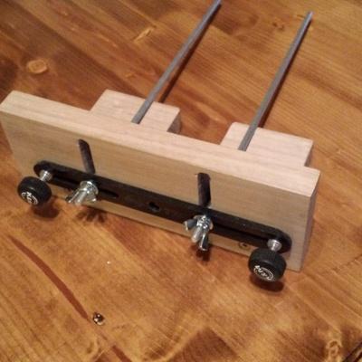 Support guide pour d fonceuse par standard2 sur l 39 air du bois - Support pour couper du bois ...