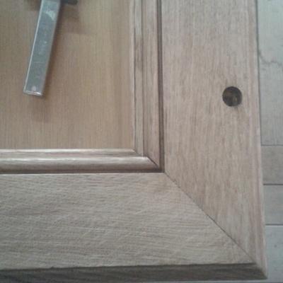 Porte int rieure par jplmenuiseriebois sur l 39 air du bois for Pose d une porte interieure