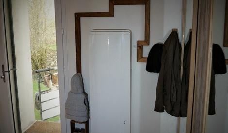 porte manteau mural par atelier floky sur l 39 air du bois. Black Bedroom Furniture Sets. Home Design Ideas